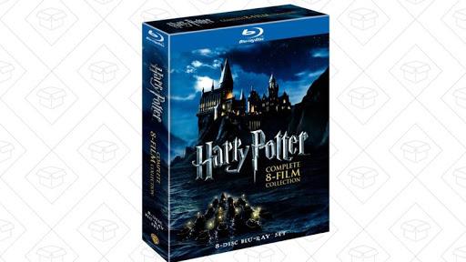 Harry Potter Blu-Ray set